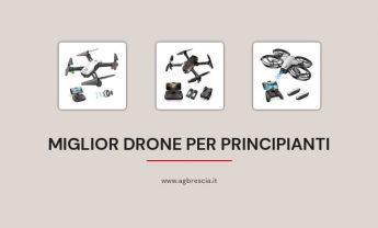 11 Miglior Drone Per Principianti del 2021 [Facile da Usare]
