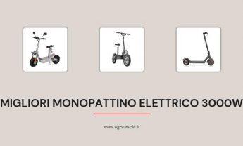 14 Migliori Monopattino Elettrico 3000w del 2021 [Motore ad alta potenza]