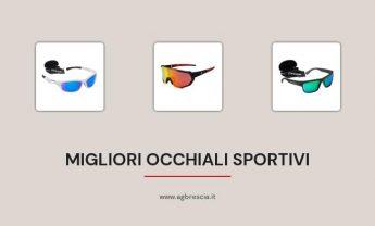 10 Migliori Occhiali Sportivi del 2021 [Con nasello in gomma morbida]